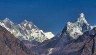 اكبر جبال في العالم