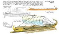 مكونات السفينة الشراعية