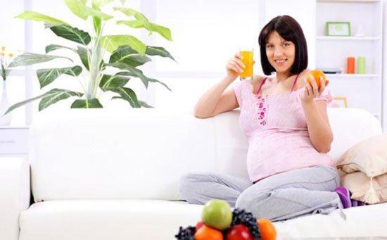 تغذية الحامل في الشهر الرابع