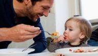 جدول تغذية الطفل في عمر السنتين