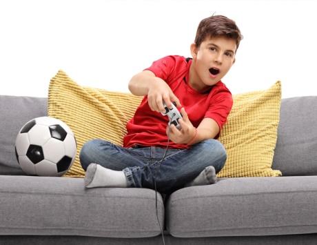 بحث عن ادمان الاطفال على الالعاب الالكترونية