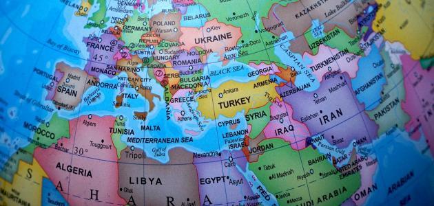 عواصم الدول الاوروبية