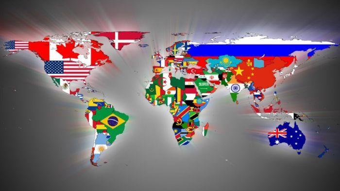 عدد دول العالم 2017