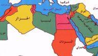عواصم الدول العربية واعلامها