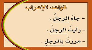 قواعد اللغة العربية والاعراب