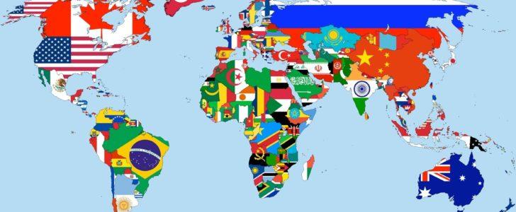 اسماء دول العالم