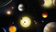 تعريف الكواكب