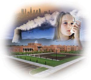 التلوث البيئي للاطفال