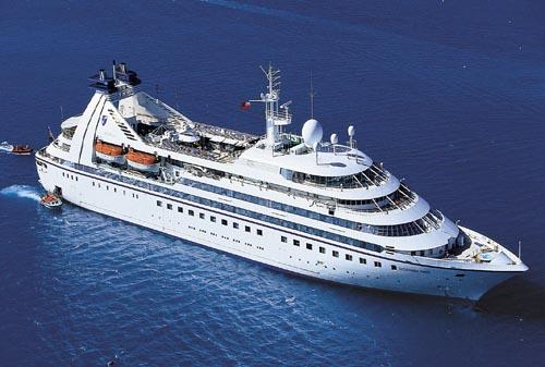 انواع السفن السياحية