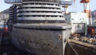 كيف يتم بناء السفن