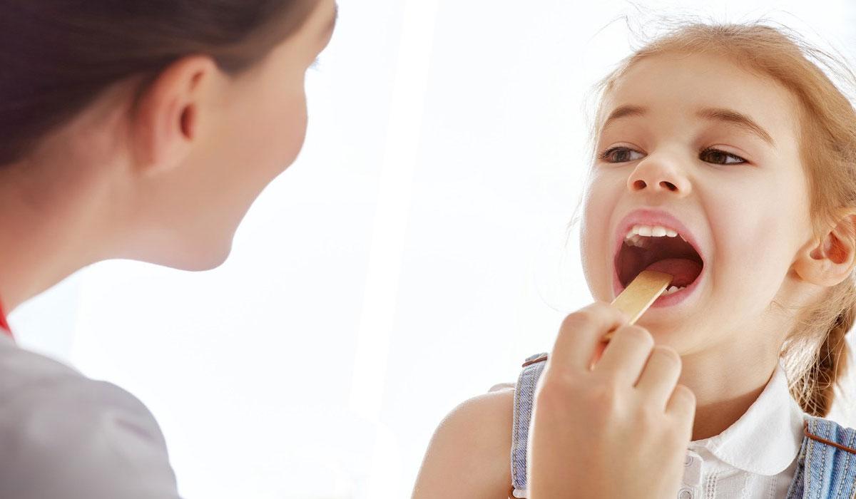 التهاب الحنجرة عند الاطفال