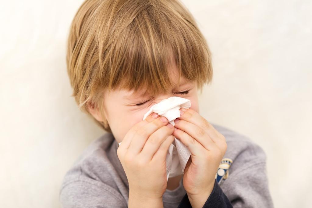 امراض الانف عند الاطفال