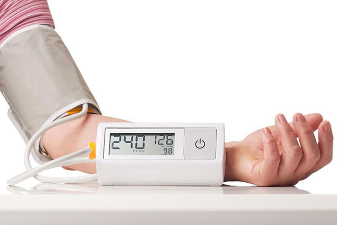 ارقام ضغط الدم المرتفع