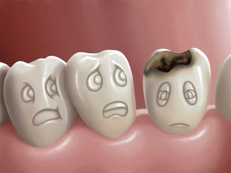معلومات غريبة عن الاسنان