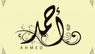 معنى اسم احمد في علم النفس