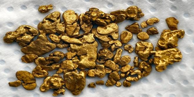 كيف تعرف الذهب في التراب