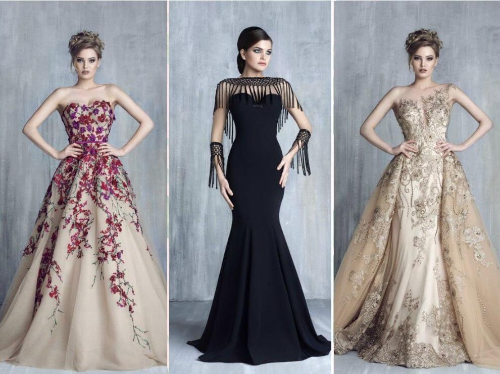 أنواع أقمشة الفساتين