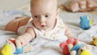 كثرة حركة الرضيع في الشهر الثالث