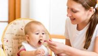 عدد وجبات الطفل في الشهر الثامن