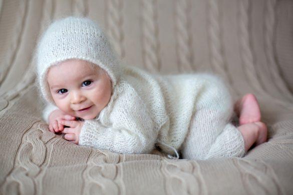 العناية بالمولود الجديد في الشتاء