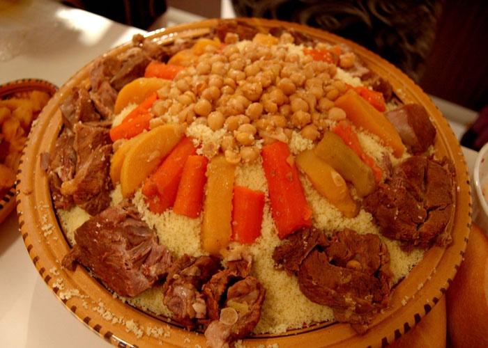 عادات وتقاليد الجزائر في الاكل