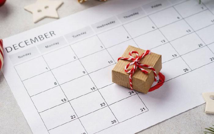 مناسبات شهر ديسمبر