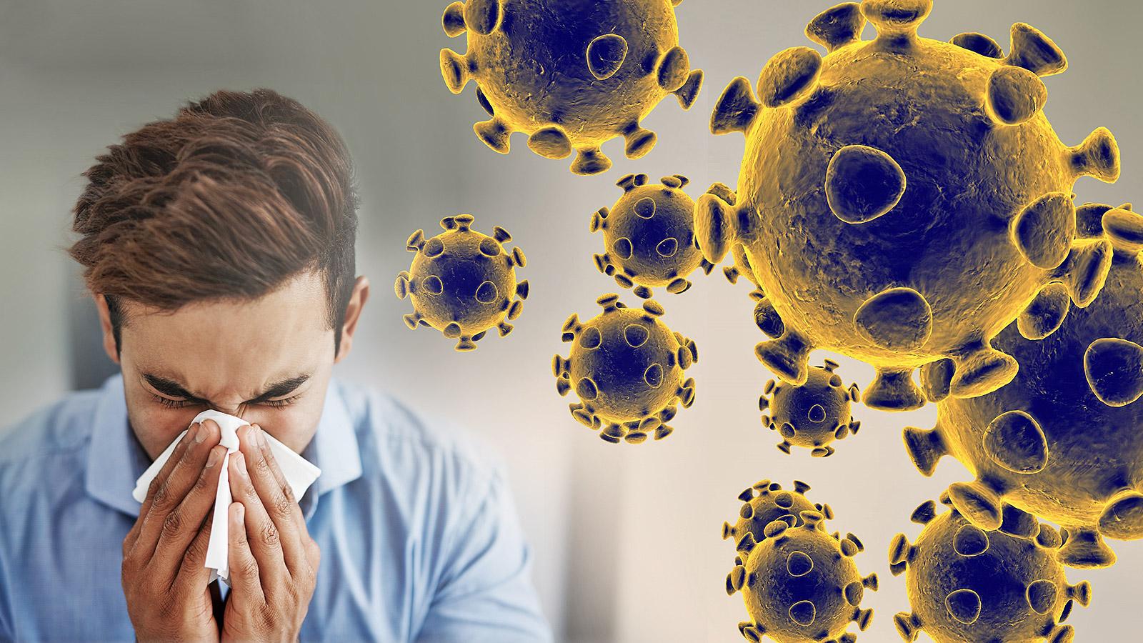 اعراض فيروس كورونا الجديد
