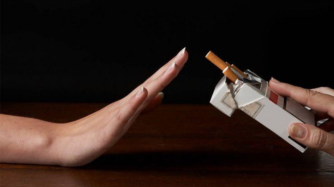 بعد ترك التدخين باسبوع