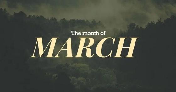 مناسبات شهر مارس