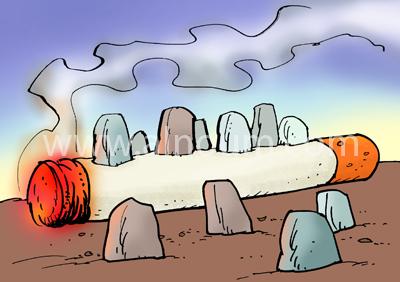 نتائج التدخين