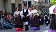 الزي الايطالي التقليدي للنساء