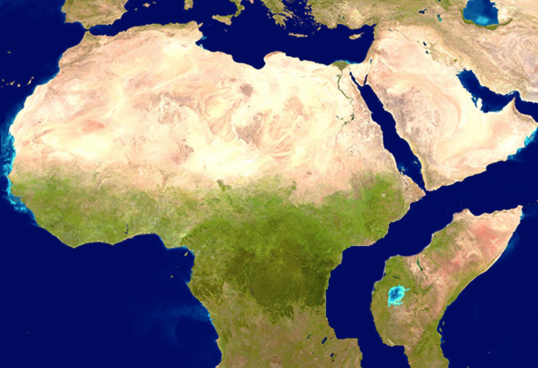 تضاريس قارة أفريقيا
