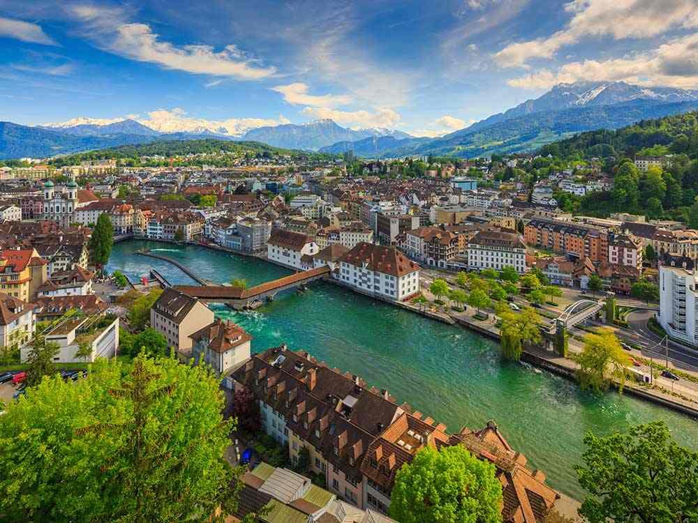 اجمل المدن في سويسرا