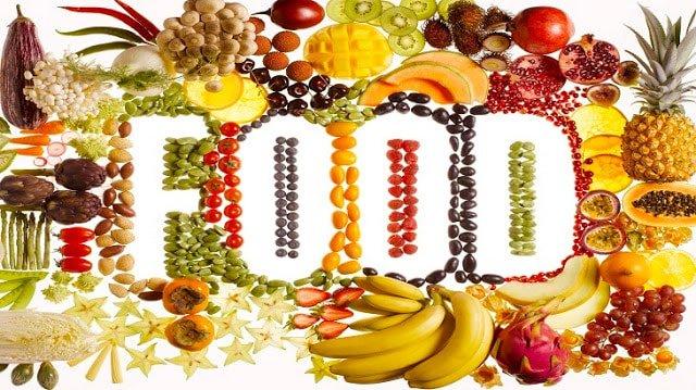 فوائد الطعام الصحي بالانجليزي مفهرس