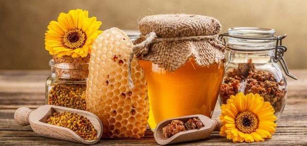 طريقة استخدام غذاء ملكات النحل للحمل مفهرس