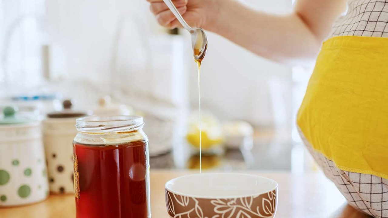 العسل والليمون للحامل