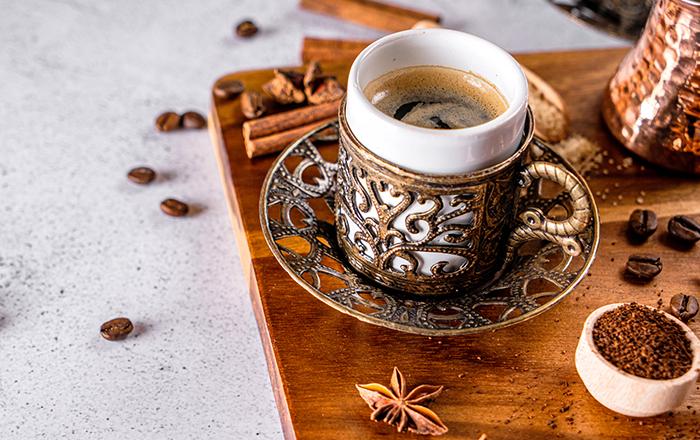 أنواع القهوة التركية مفهرس