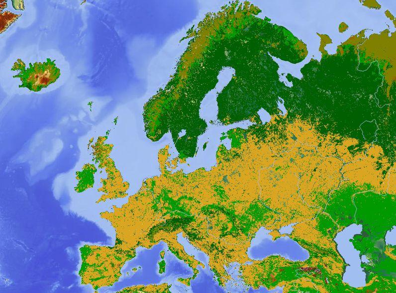 قارة أوروبا بحث كامل