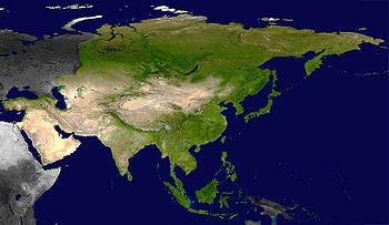 أعلام دول آسيا