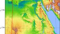 خريطة مصر الجغرافية بالتفصيل