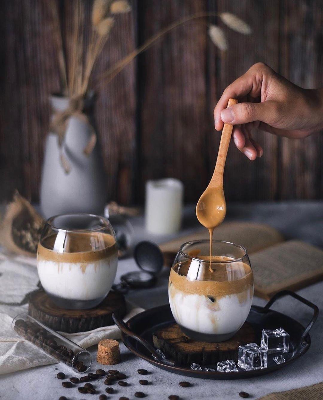 Dalgona coffee طريقة عمل