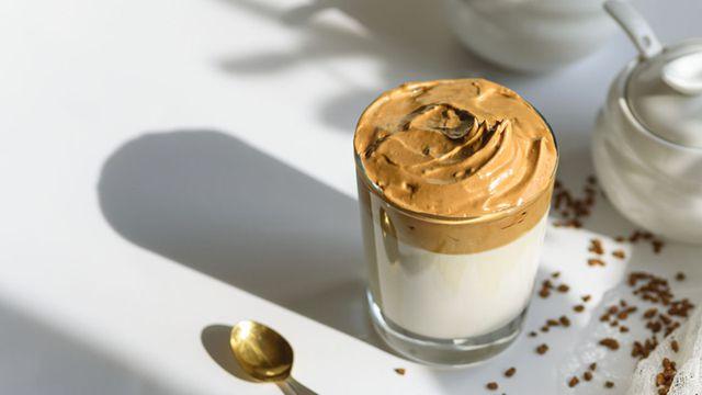 طريقة القهوة المثلجة الكورية