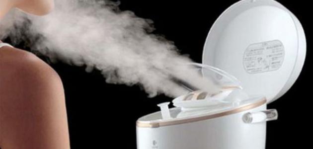تنظيف الرئتين بالبخار