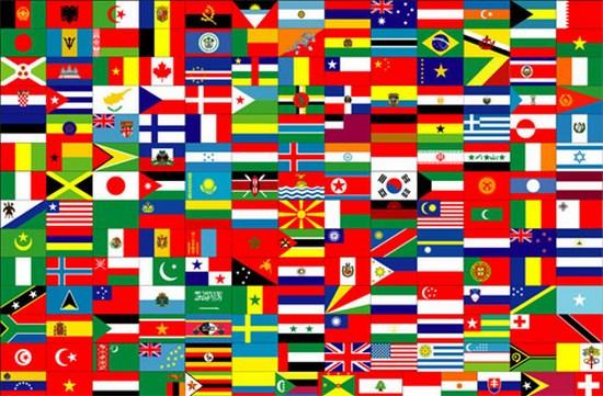 آسيا البلاد والمناطق
