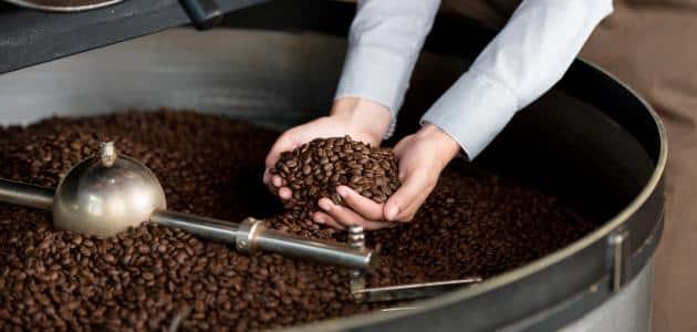 طريقة حمس القهوة مع المستكة
