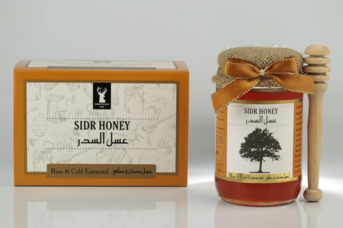 مكونات عسل السدر