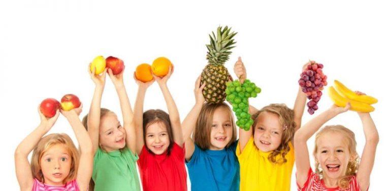 عبارات عن الفواكه للاطفال