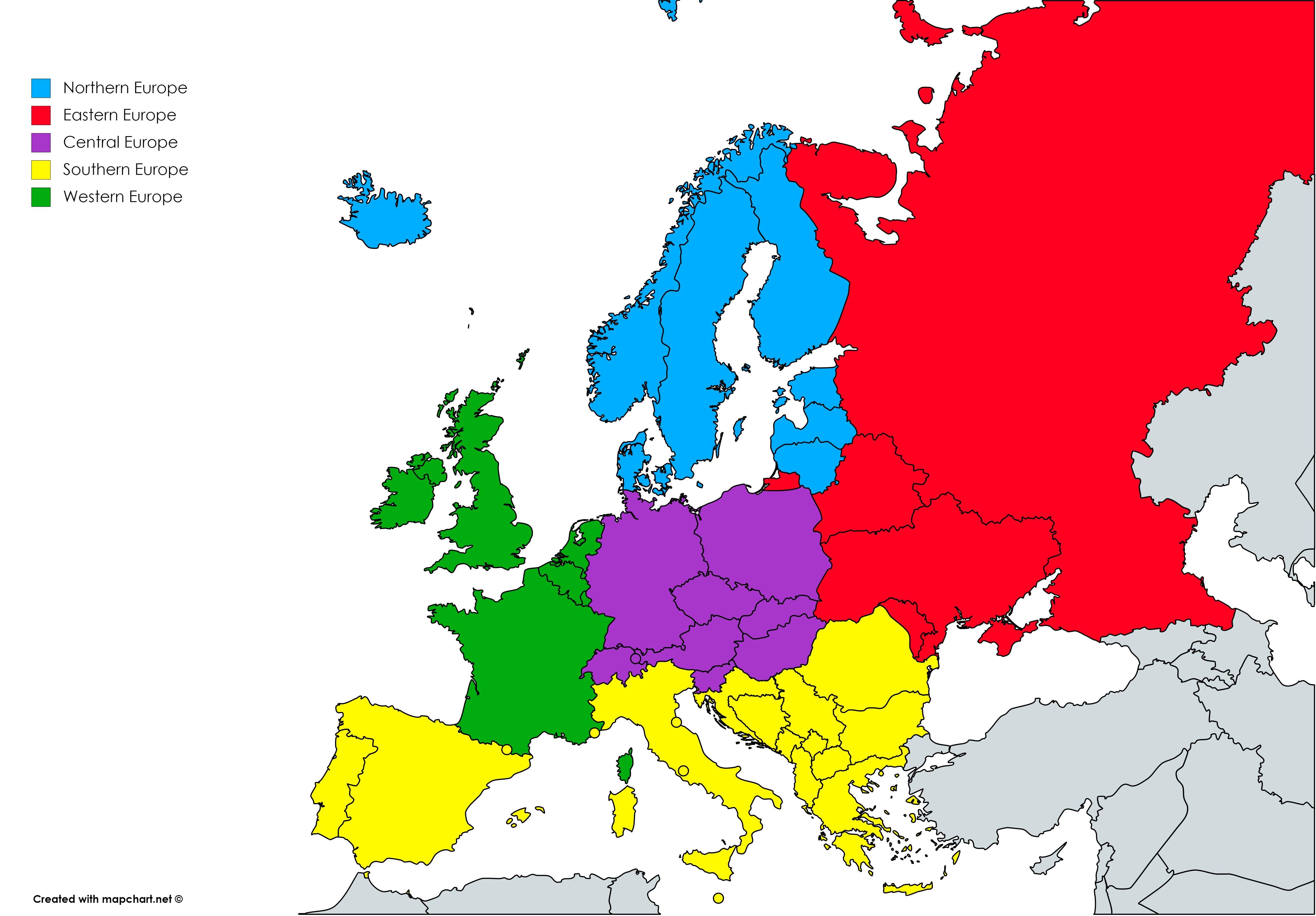 دول أوروبا الوسطى