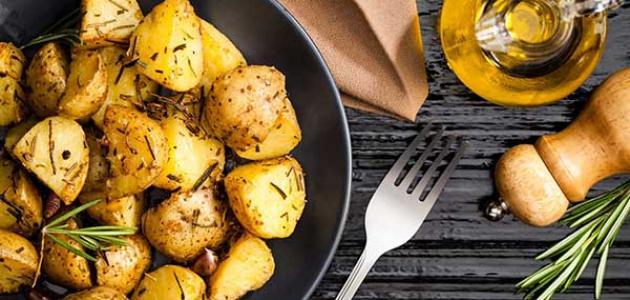أضرار البطاطس المشوية