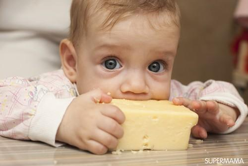 فوائد الجبن للأطفال